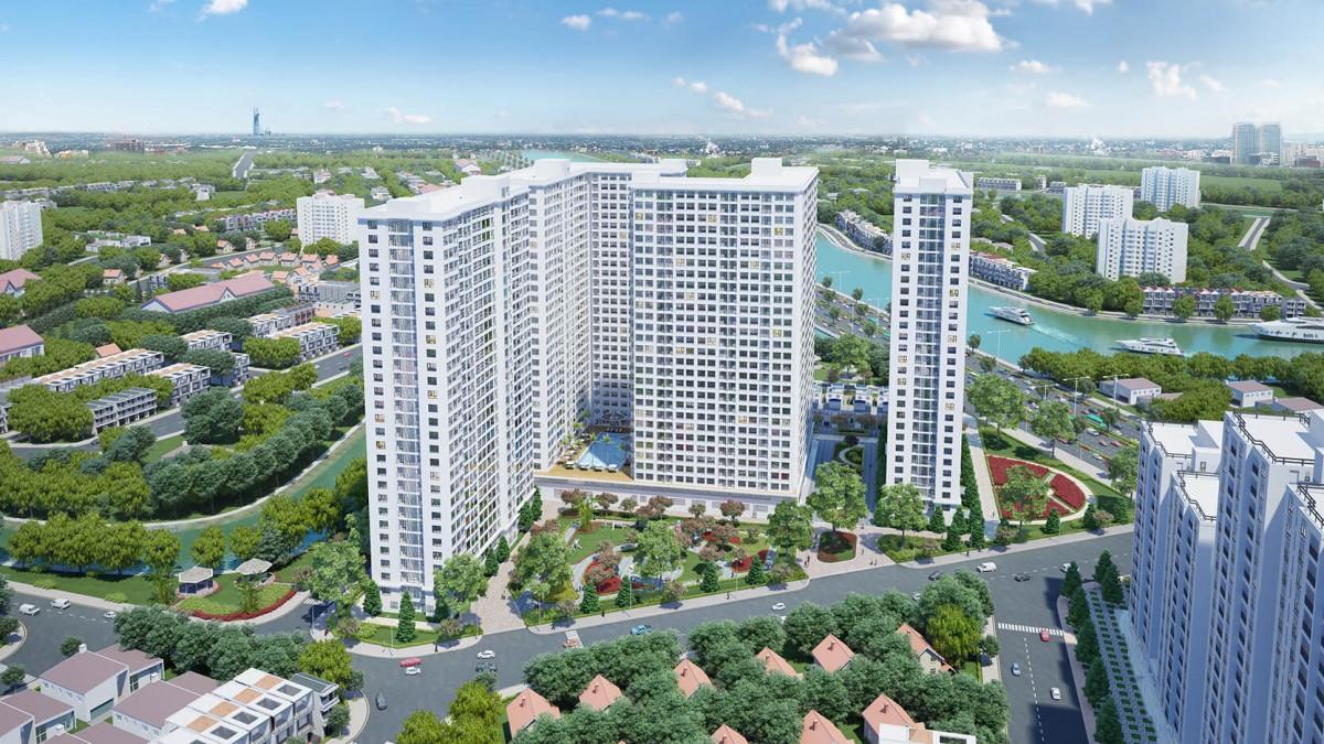 Tônngr quan dự án Căn hộ City Gate 3,Căn hộ City Gate 3, City Gate 3, Căn hộ City Gate 3 Quận 8