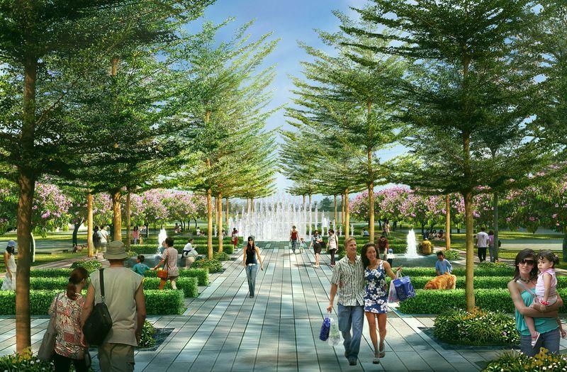 Tiện ich công viên nội khu city gate 3- DỰ ÁN CĂN HỘ CHUNG CƯ CITY GATE 3 QUẬN 8, BẢNG GIÁ CHỦ ĐẦU TƯ