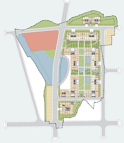 Phối cảnh Mặt bằng dự án chung cư City Gate 3