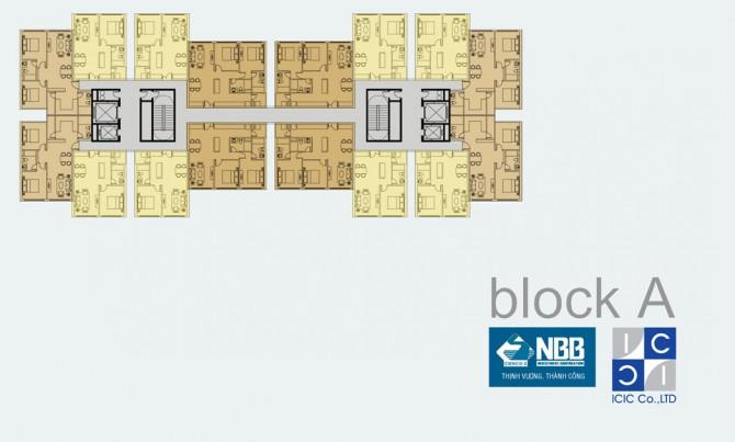 Mặt bằng City Gate 3 các Block ( NBB Garden 3 Quận 8)