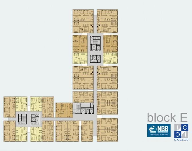 Block Mạt bang E City Garden Quận 8