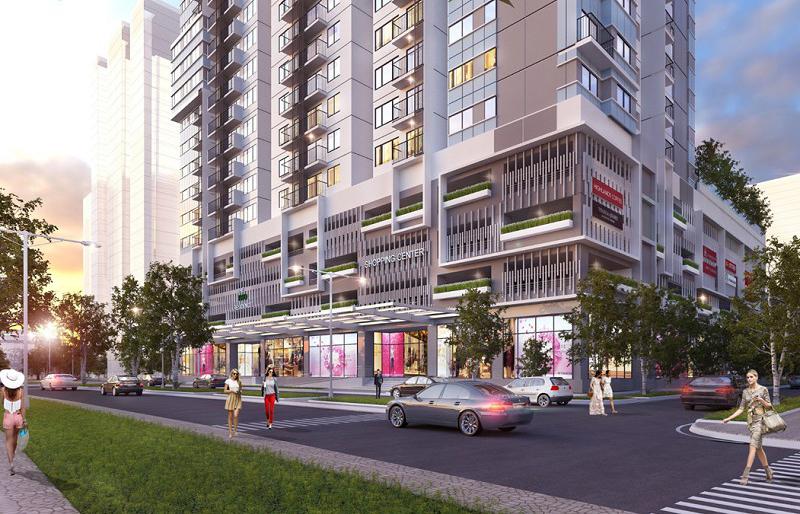 Trung tâm thương mại dự án City Gate 3 Quận 8