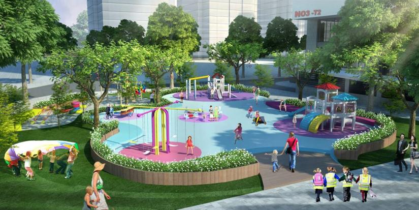 Tiện ích khu vui chơi trẻ em City Gate 3