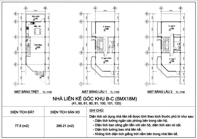thiết kế Căn góc nhà phố City Gate 3: