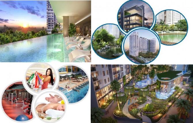 Tiện ích trung tam thuong mai dự án căn hộ Asahi Tower Quận 8, dự án chung cu AsaHi tower