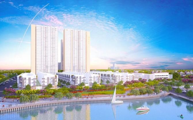 vị trí Dự án Asahi Tower phường 16, Quận 8, chung cư Asahi Tower