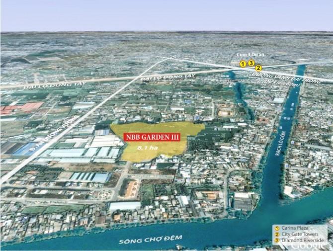 vị trí quy hoạch liên kết vùng Dự án căn hộ Asahi Tower phường 16, Quận 8, chung cư Asahi Tower